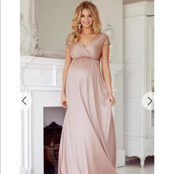 438426edc0df9 Tiffany Rose Maternity Dress with Rhinestone Sash.  M_5aa0f3bccaab44e366c6baa0